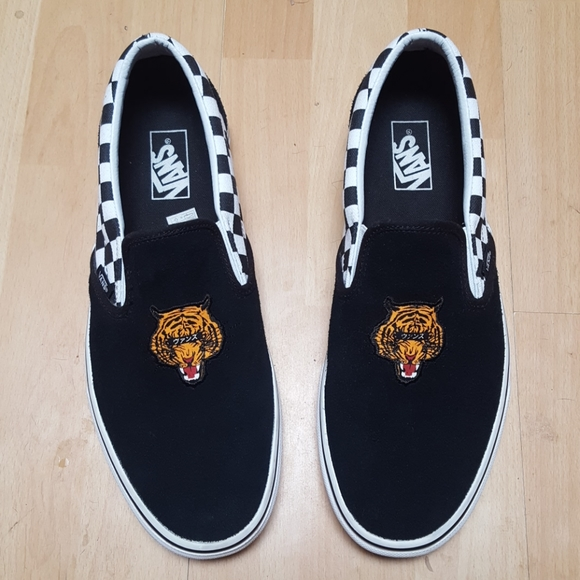 Vans Shoes | Tiger Check | Poshmark